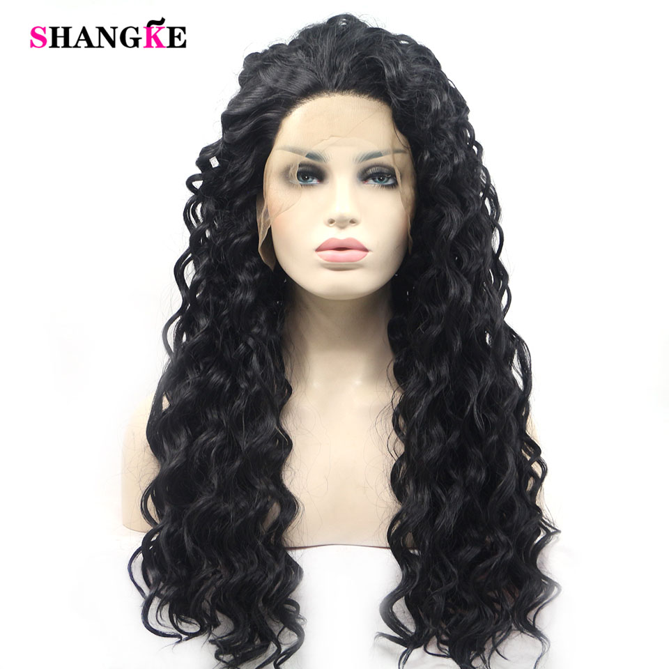 Shangke Wigs For Women Long Straight Cosplay Wigs Synthetic Hair Heat Resistant Hair Extensions & Wigs Synthetic Wigs