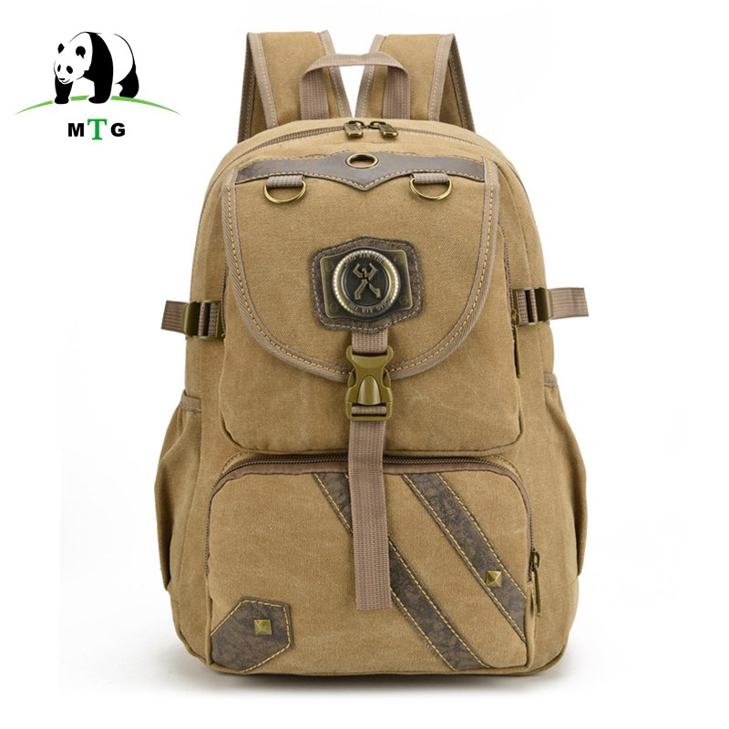 MTG New Men's and Women's Unisex Canvas Backpack Travel School bag Male Backpack Men Large Capacity Rucksack Shoulder Laptop Bag new vintage backpack canvas men shoulder bags leisure travel school bag unisex laptop backpacks men backpack mochilas armygreen