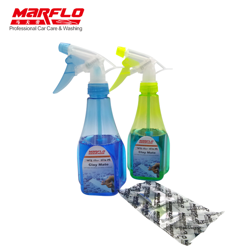 Marflo Car Wash Magic Clay Bar Clay Lubricant Magic Clay Lubricants For Magic Clay Pad Towel Mitt Block Brilliatech