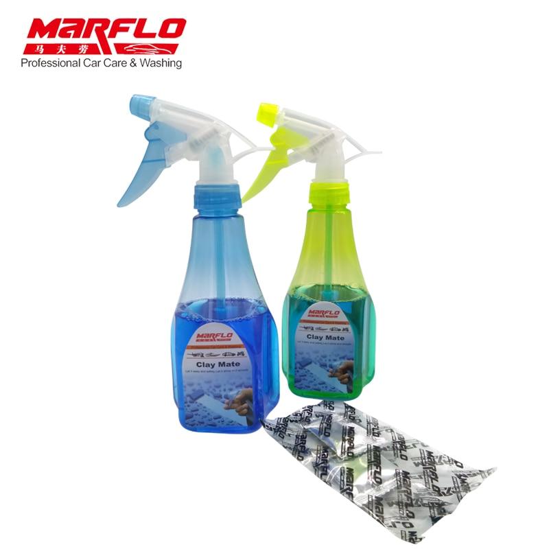 Marflo Car Wash Magic Clay Bar Clay Lubricant Magic Clay Lubricants for Magic Clay Pad Towel Mitt Block Brilliatech свитшот clay