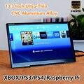 13.3 дюймов 1920*1080 5 В Портативной Игровой Дисплей IPS Mini HDMI 1080 P VGA USB 3.5 Разъем Автомобиля Raspberry Pi Xbox PS4 ЖК-Монитор модуль