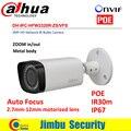 Dahua 3mp câmera ip motorizada 2.7mm ~ 12mm ipc-hfw2320r-zs novo modelo para substituir ipc-hfw2300r-z, frete grátis