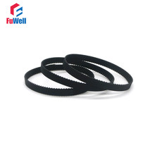 2GT Timing Belt Rubber 6/10mm Width Toothed Belts 2GT-188/190/192/194/200/202/204/208/214/220/228 Closed Loop Gear Pulley Belt(China)