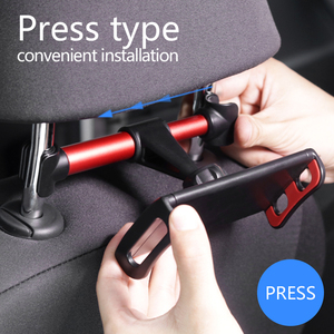Image 5 - Auto Telefon Halter Kopfstütze Halterung 360 Grad Universal Zurück Sitz Stand Auto Handy Halter Für iPhone 6 7 8 plus X Tabletten