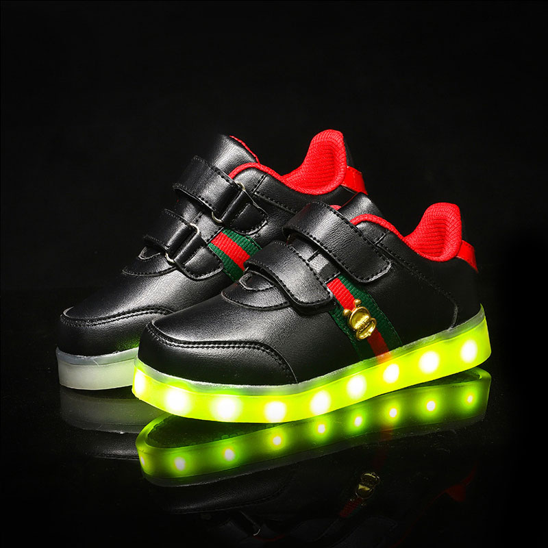 USB oplader gloeiende sneakers Led kinderen lichte schoenen voor - Kinderschoenen - Foto 4