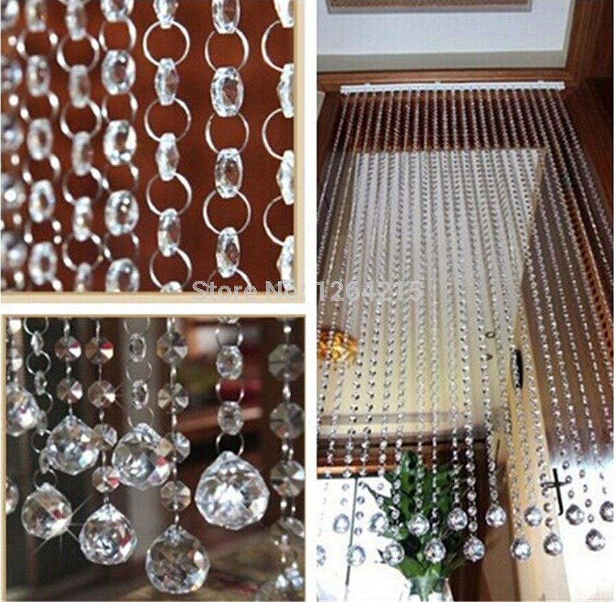 Achetez en gros moderne rideaux de perles en ligne des for Rideau separation cuisine salon