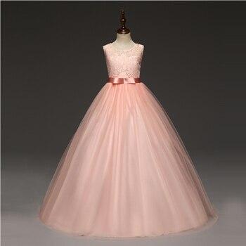 7812ab82a Formal chico Costume 5-14 años princesa elegante vestido de boda chico s