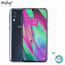 2PCS Glass For Samsung Galaxy A40 Screen Protector Tempered