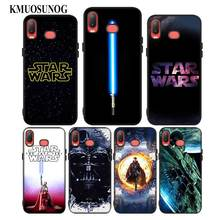 For Samsung A6S A8S A6 A7 A8 A9 A5 A3 Star Plus 2018 2017 2016 Black Silicon Phone Case Wars Style