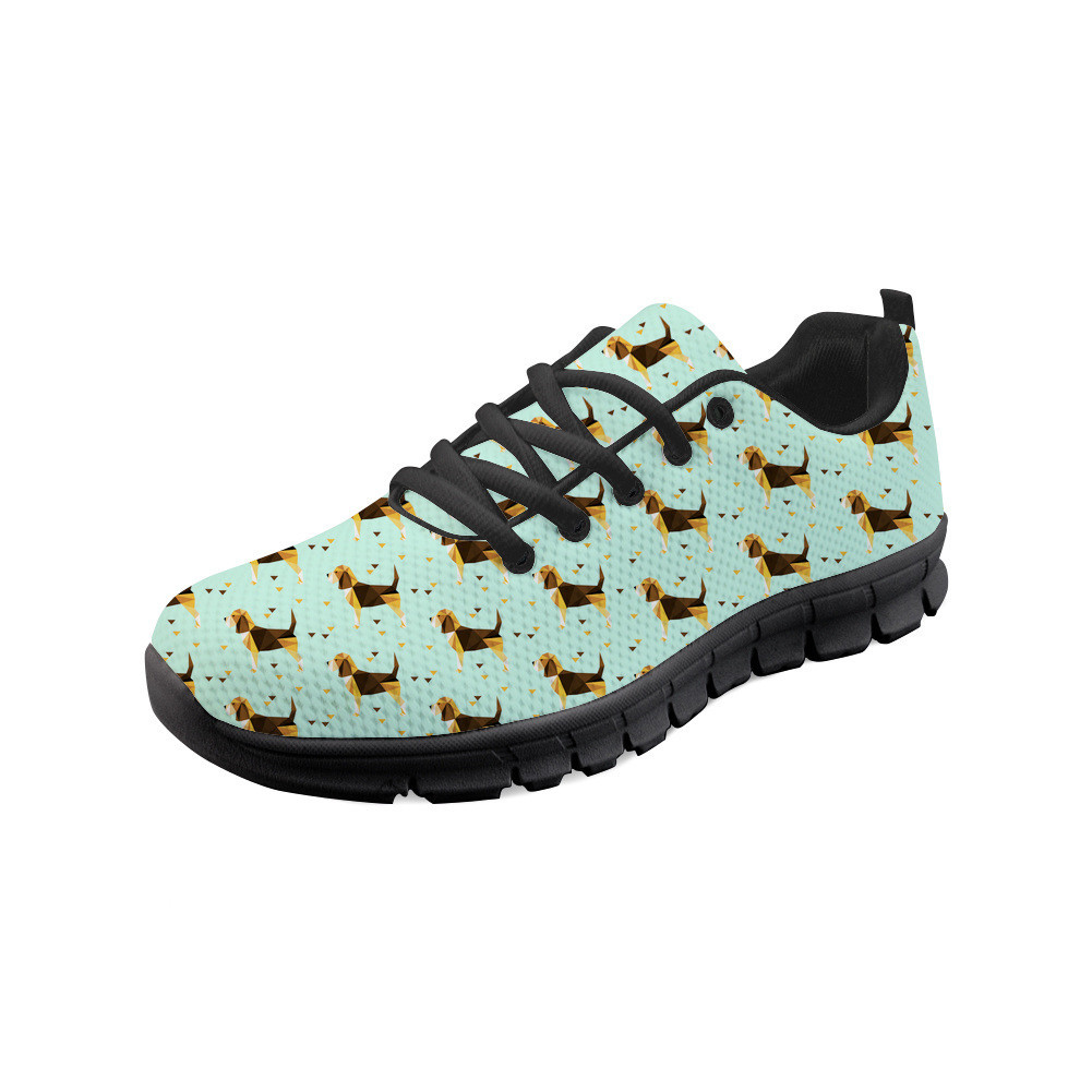 Thikin Beagle Dog Male Hard Wearing Casual Lovers Shoes Men Lightweight Breathable Safety Shoes Work Shoes Construction Sneaker in Men 39 s Casual Shoes from Shoes
