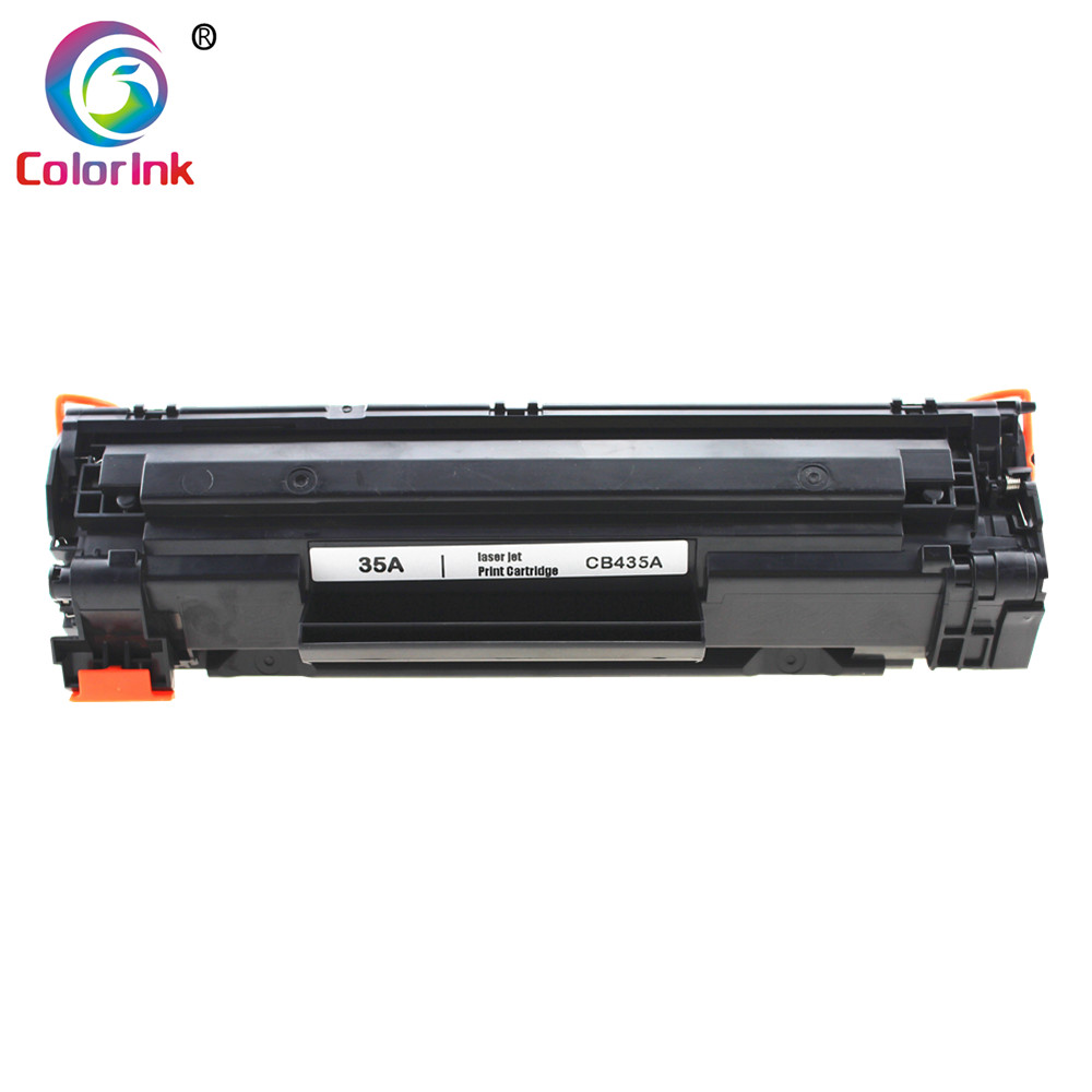 ColorInk CB435A 435A 35A Toner Cartridge For HP LaserJet P1002/P1003/P1004/P1005/P1006/P1009 Printer Black Toner Cartridge