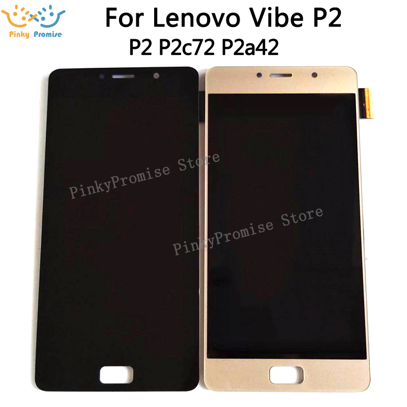 LCD for Lenovo Vibe P2 Display Touch Screen Digitizer Assembly for Lenovo P2 P2a42 P2c72 LCD
