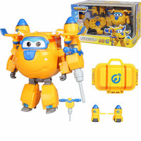 Donnie Deformation Robot Armor Super wings Robot Action Figures toy Super Wing Transformation robot Fire Engines Toys for gifts