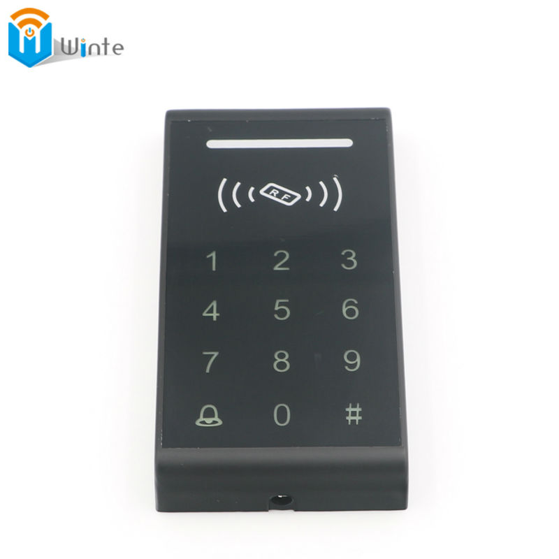 RFID standalone access control card reader Access Control System RFID Proximity Card RFID/EM Keypad Door Opener Access Control waterproof touch keypad card reader for rfid access control system card reader with wg26 for home security f1688a
