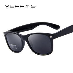 MERRYS, Мужские поляризационные солнцезащитные очки, классические, Ретро стиль, заклепки, оттенки, фирменный дизайн, солнцезащитные очки, UV400, ...