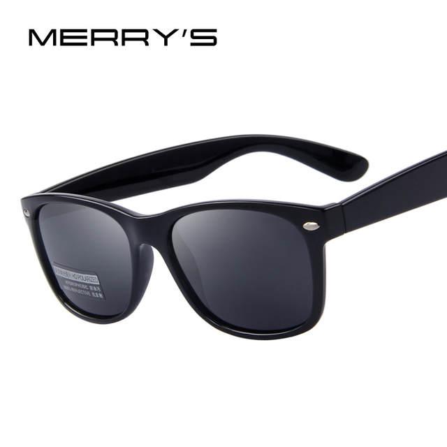 94168c1a7a1 placeholder MERRYS Men Polarized Sunglasses Classic Men Retro Rivet Shades  Brand Designer Sun glasses UV400 S683