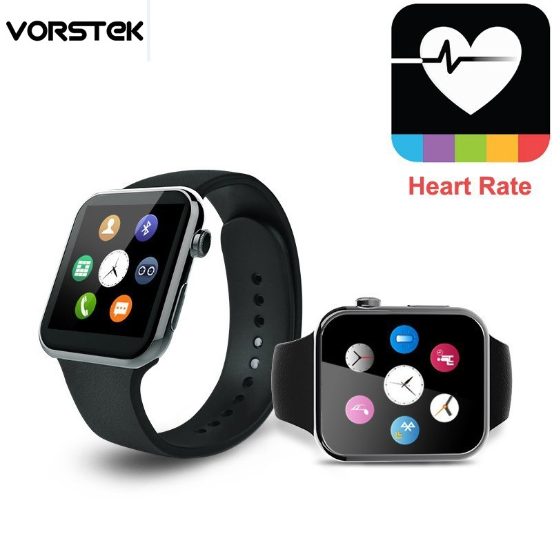imágenes para 2016 nuevo smart watch a9 para apple iphone y android apple relojes con ritmo cardiaco digital relogio smartwatch inteligente reloj