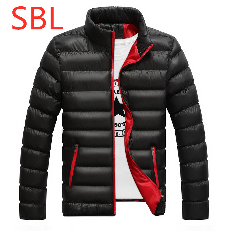 SBL New Print Winter For Men's Ultralight Full Duck   Down   Outwear Man Vest   Down   Jackets Outdoor Male Leisure Zipper Harajuku   Coat