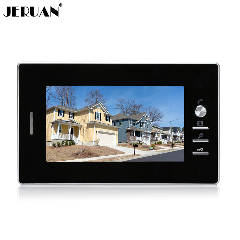 ФОТО JERUAN 7 inch color  video door phone intercom system only monitor 720B