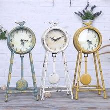 Antique Style Metal Clock