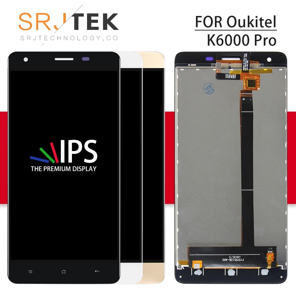 Srjtek For Oukitel K6000 pro LCD Display Matrix + Touch Screen Digitizer Full Assembly 5.5 1920x1080 For Oukitel K6000 proSrjtek For Oukitel K6000 pro LCD Display Matrix + Touch Screen Digitizer Full Assembly 5.5 1920x1080 For Oukitel K6000 pro