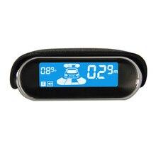 Профессиональный Цифровой СВЕТОДИОДНЫЙ Дисплей Авто Парковочный Сенсор Системы 8 Всепогодный Сзади Вид Спереди Обратный Резервного Радиолокационные Системы Kit