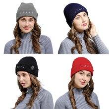 Women Men for Winter Knitted Adult Hats Caps Wool Beanie Cap Casual Keep Warm Elastic Hat Bonnet Ski cap цена