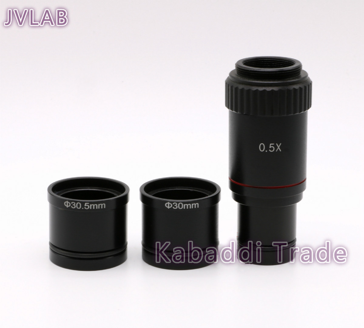 Microscópio 0.5x c-montagem lente para 23.2mm 30mm 30.5mm ccd cmos câmera adaptador digital ocular acessórios frete grátis