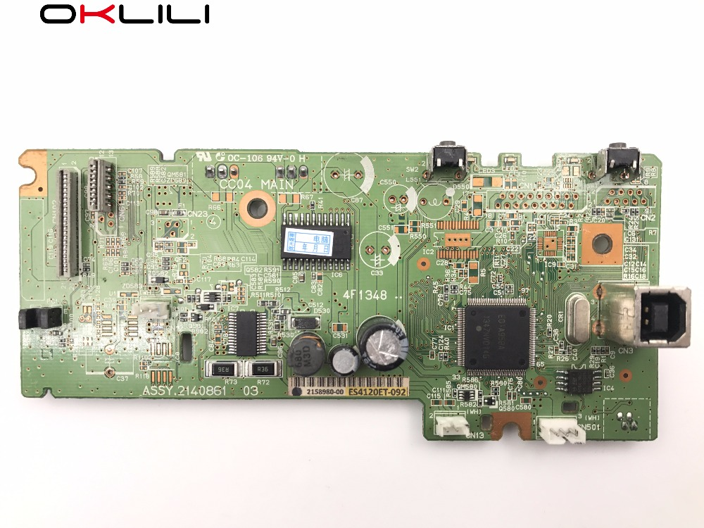 2140861 2158980 2140867 PCA ASSY Formatter Board logic MainBoard Main mother board for Epson L110 L111 L300 L301 L303 ME10 L312 formatter pca assy formatter board logic main board mainboard mother board for hp m775 m775dn m775f m775z m775z ce396 60001