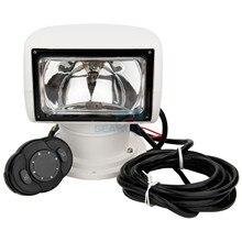 Отдаленных морских прожектор Грузовик автомобилей Ксеноновые прожектор лодки 4 способ вращающихся 12 В 35 Вт