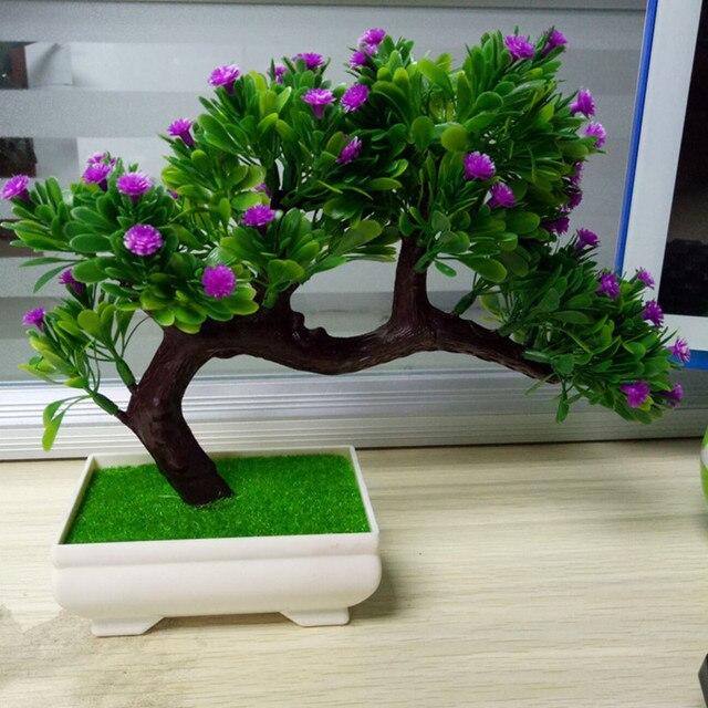 Comprar ahora Plantas artificiales Bonsai con olla invitado-saludo ...