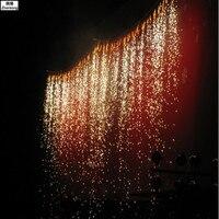 700 Вт пульт дистанционного управления и Dmx сценический холодный Искра фонтан фейерверк машина титановая пудра машина для Свадебного Шоу Клу
