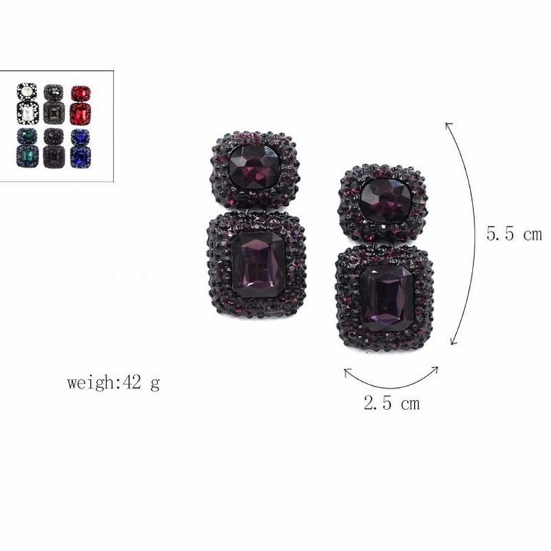 Charm Metal Jewelry Tassel B1447 Pave Rhinestone Crystal Faceted Glass Tassels