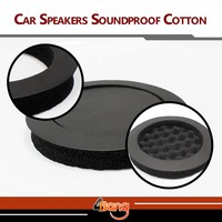 1Pc High Quality Car Auto Truck Automobile Sound Insulation Speaker Soundproof Cotton Self Adhesive
