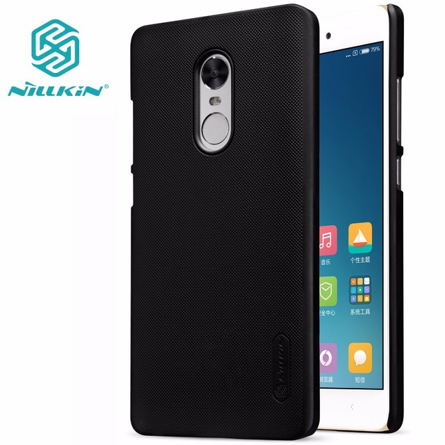 100% authentic b8ed1 fe1f6 US $7.19 5% OFF|xiaomi redmi note 4X case xiaomi redmi note 4X cover  NILLKIN Super Frosted Shield matte hard back cover-in Half-wrapped Case  from ...