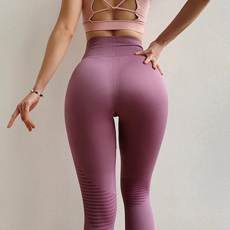 High Waisted Moto Seamless Leggings for Women Scrunch Butt Yoga Pants Energy Seamless Workout Legging Pink Fitness Gym Tights 1