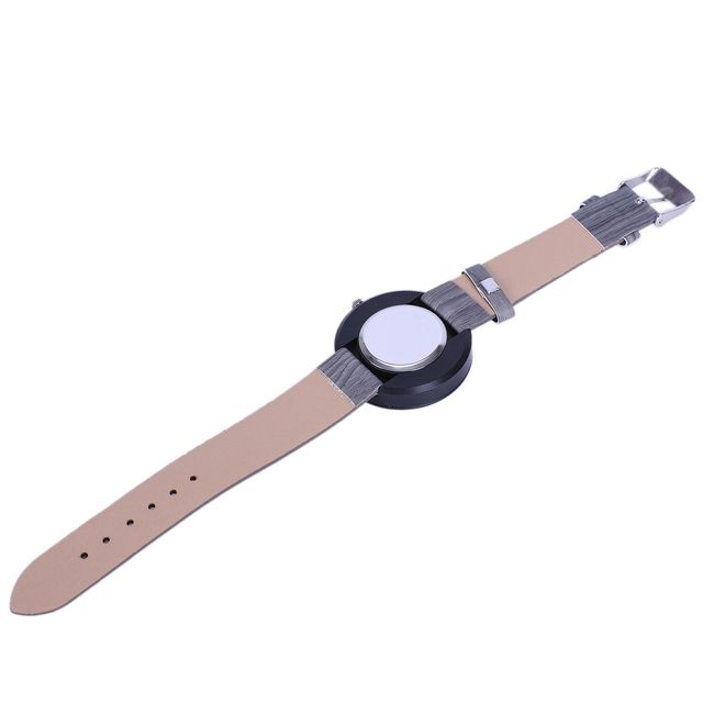 Luxury Imitation Wooden Watch Vintage Leather Quartz  2