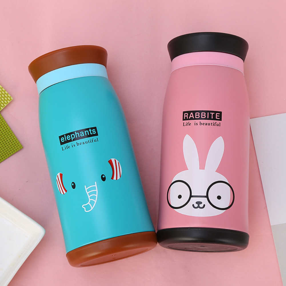 Double Wall Stainless Steel Vacuum Flasks Car Thermos Cup Coffee Tea Milk Travel Mug Thermol Bottle 350ML\250ML high quality