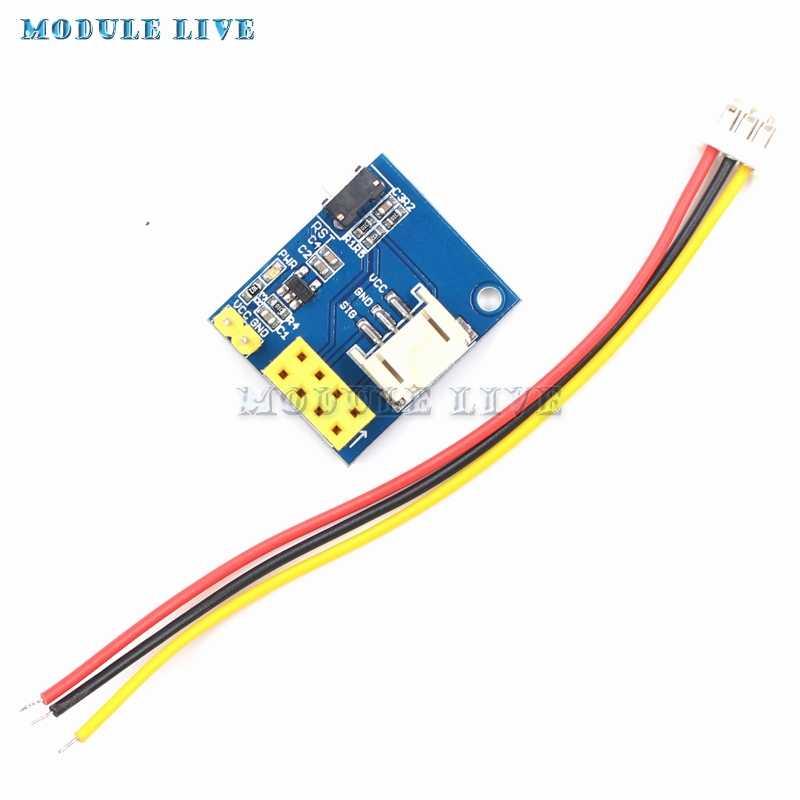 ESP8266 ESP-01 ESP-01S RGB LED Controller Adpater WIFI Module For Arduino  IDE WS2812 WS2812B 16 Bits Light Bar Ring DIY Kits