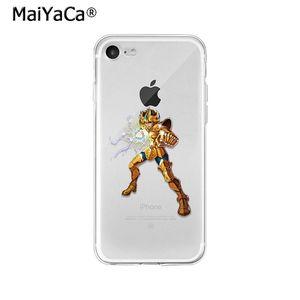 Image 3 - Maiyaca Saint Seiya TPU Mềm Mại Phụ Kiện Điện Thoại Ốp Lưng Điện Thoại Apple iPhone 8 7 6 6S 6S Plus X XS max 5 5S SE XR Di Động Trường Hợp