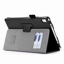 Caso de la Cubierta de lujo para Lenovo Tab 4 Plus 8 TB-8704F TB-8704N TB-8704 8 pulgadas Tablet con Las Ranuras para Tarjeta Correa de Mano + Free regalo