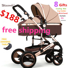 Baby Stroller For 0-3 Year Kids