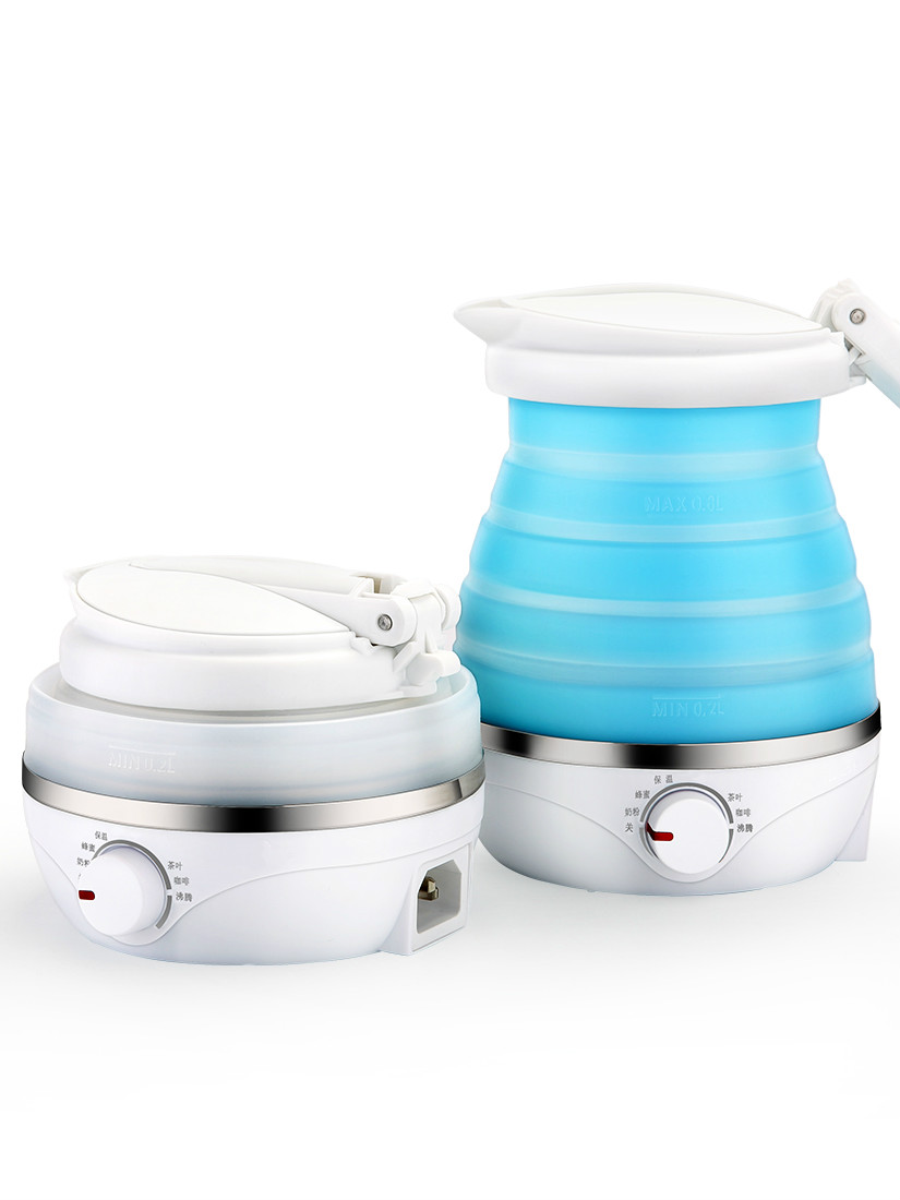 цена NEW Travel electric kettle folding silicone portable