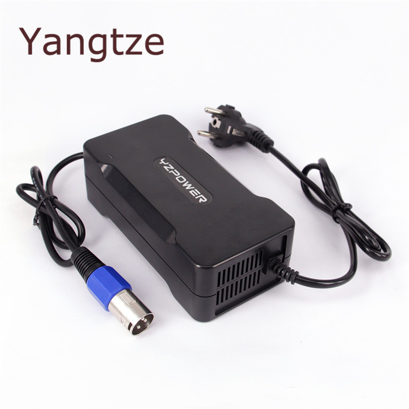 Yangtze 54.6V 4A Battery Charger For 48V lithium Battery Electric bicycle Power Electric Tool for Refrigerators & Switching цена