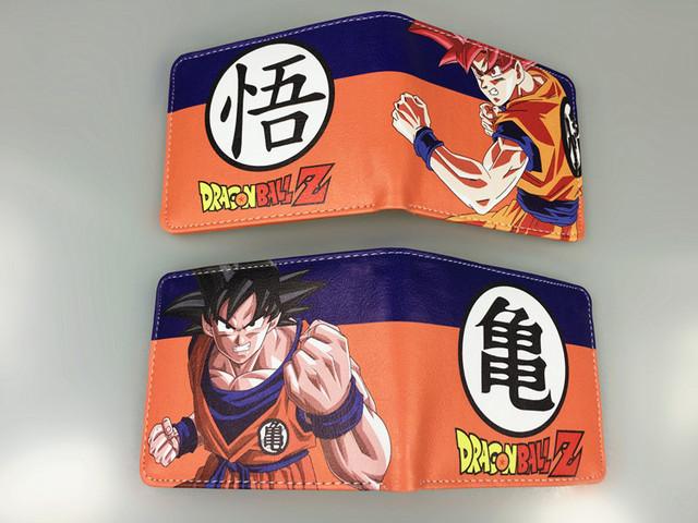 Dragon Ball Z Goku Super Saiyan Wallets With Card Holder Purse