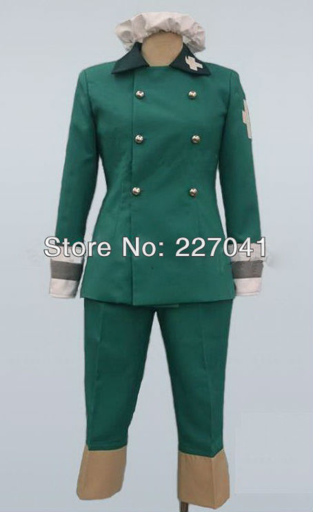Axis Powers Hetalia Switzerland Cosplay Costume