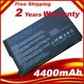 Bateria do portátil para asus f8 f80 f80h f80a f80m f80s f80q f80l F81 F81SE F83 X82SE F50S X61 X61W X61S X61GX X61SL X61Z X61SL X61Z
