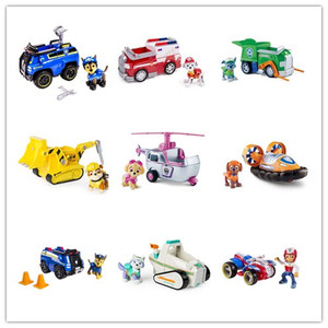 Image 2 - Genuine Spin Master Paw Patrol RESCUE RACERS VEHICLE Skyes High Flyin Copter Ryders Rescue ATV Vehicle and Figure children toy