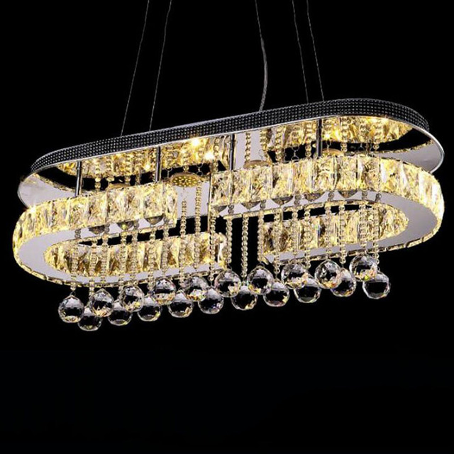 2018 modern crystal led lighting chandelier and pendants retro lamp 2018 modern crystal led lighting chandelier and pendants retro lamp pendant lamp nordic chandeliers light aloadofball Choice Image