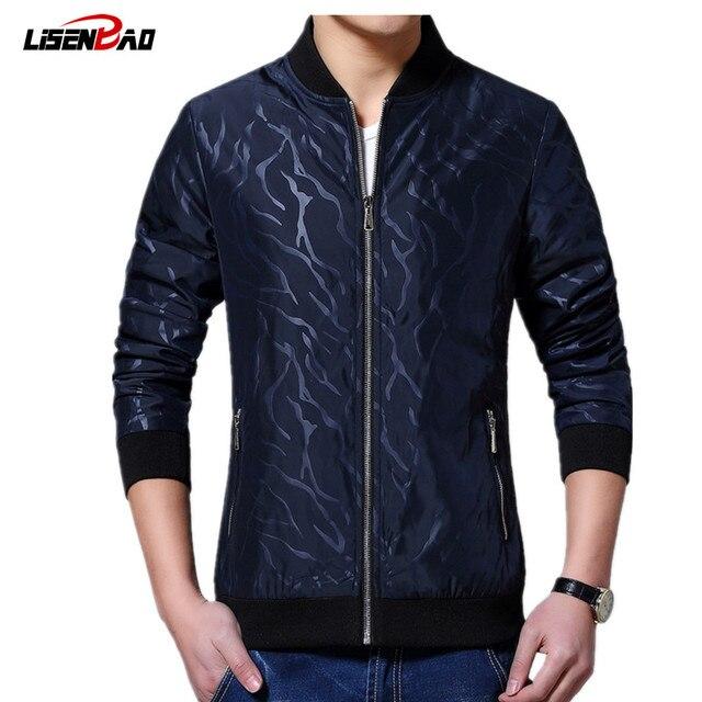 0e267efe1cd5 2018 Men Jacket Autumn New Fashion Brand Jacket Men Trend Patchwork Korean  Slim Fit Mens Designer